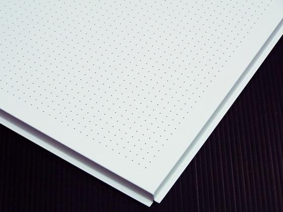 0 5mm Dia Micro Perforation Aluminum Ceiling Tile Long